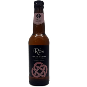 Stonewell Ros Apple and Rhubarb Craft Cider 5.5% abv 33cl