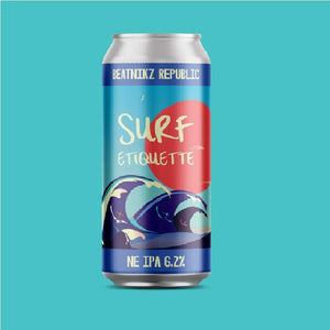 Beatnikz Surf Etiquette  NEIPA 6.2% abv 440ml Can