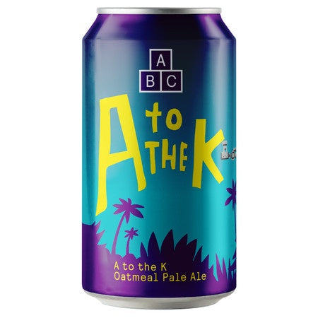 Alphabet Brewing A to the K APA 5.6% abv 33cl Can
