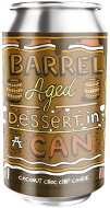 Amundsen Barrel Aged Dessert In A Can Coconut Choc Chip Cookie Pastry Stout 11.5% abv 330ml Can