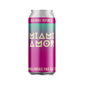 Beatnikz Miami Amor Pale Ale 5.3% abv Can