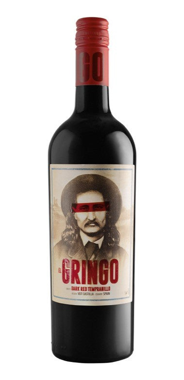 El Gringo Dark Red Tempranillo 75cl 14% abv