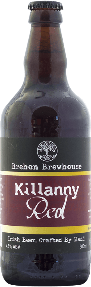 Brehon Brewhouse Killanny Red 4.5% abv 500ml