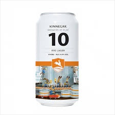Kinnegar Brewers At Play 10 Rye Lager 4.4% abv 440ml Can