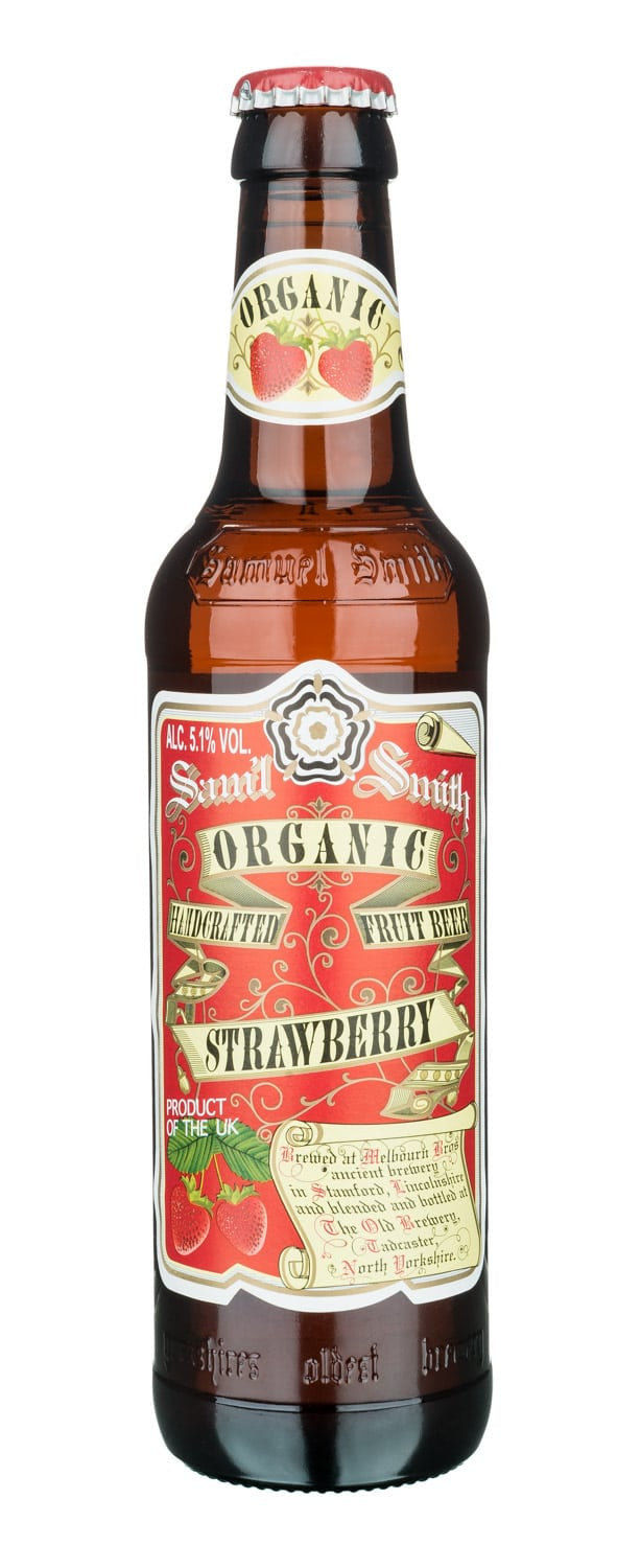 Samuel Smiths Organic Strawberry 5.1% abv 33cl btl