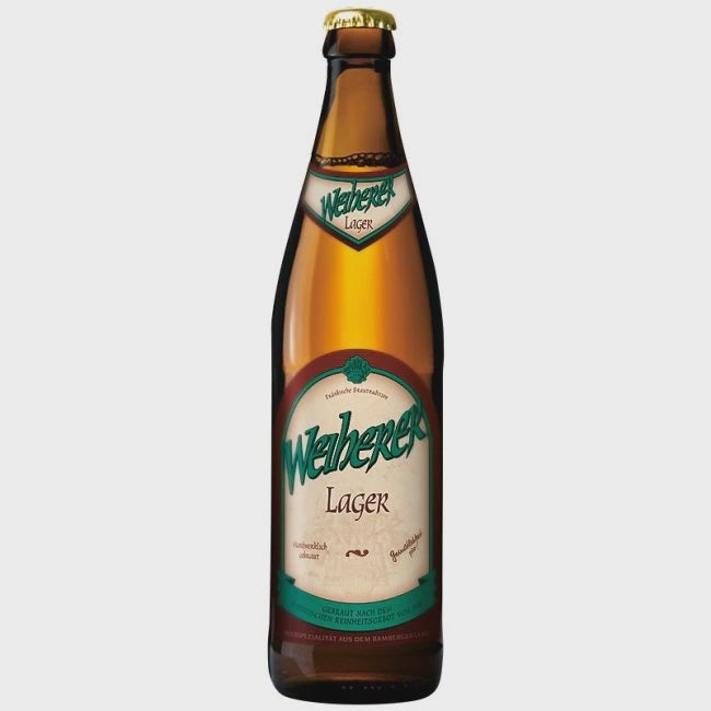Weiherer Lager 4.7% abv 50cl