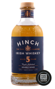 Hinch 5 Year Old Double Wood 43% abv 70cl