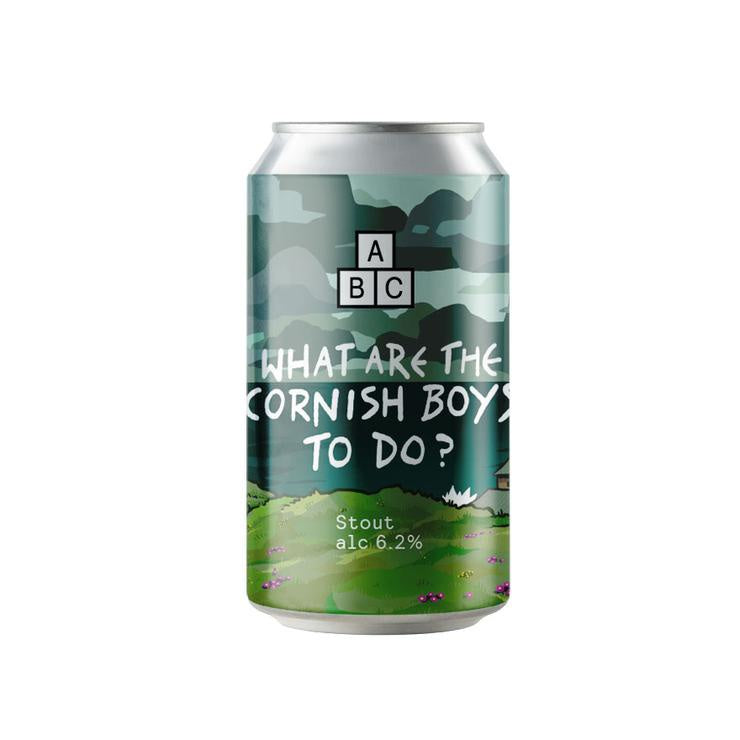 Alphabet What Are The Cornish Boys To Do Stout 6.2% abv 330ml Can