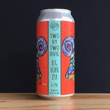 Two By Two Brewing Big Horn IPA 6.5% abv 440ml Can