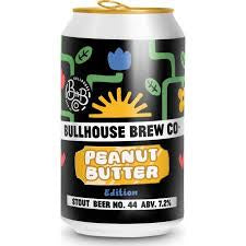 Bullhouse Peanut Butter Stout 7.2%abv 330ml Can