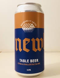 Newbarns Table Beer 3% abv 440ml Can