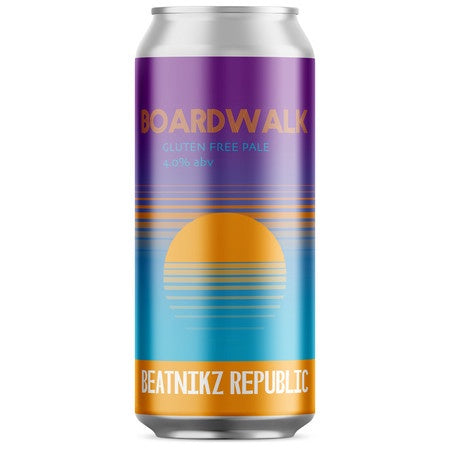 Beatnikz Boardwalk 4% abv 440ml Can