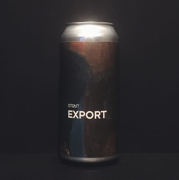Boundary Export Stout 440ml Can