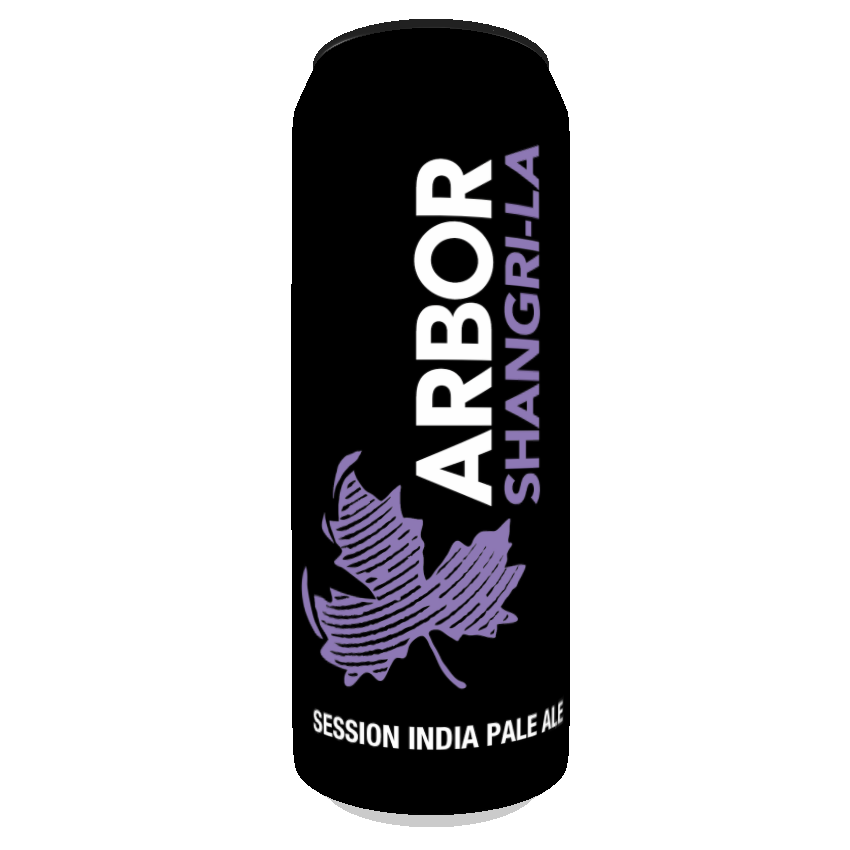 Arbor Shangri-la 4.2%abv 568ml Can