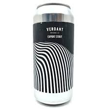 Verdant Export Stout 7.7 % abv  440ml Can