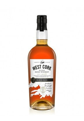 West Cork Irish Whiskey Black Cask 40% abv 70cl