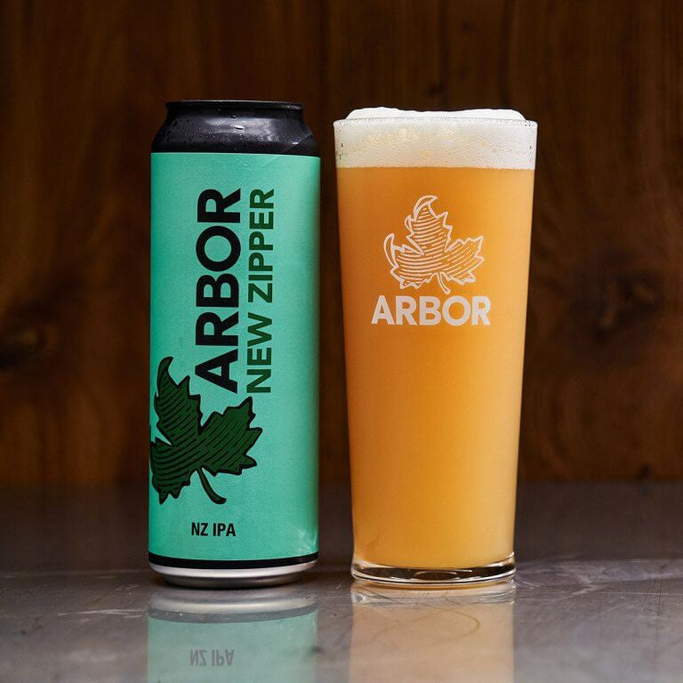 Arbor New Zipper 6.5%abv 568ml Can