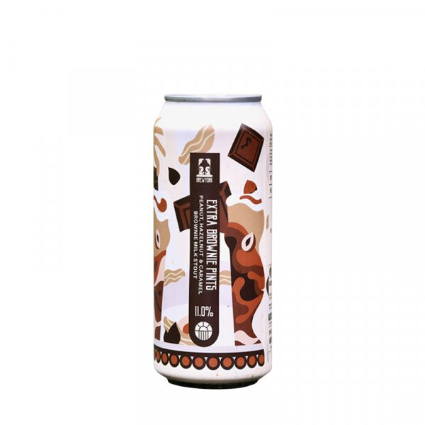 Brew York Extra Brownie Imperial Milk Stout 11% abv 440ml Can
