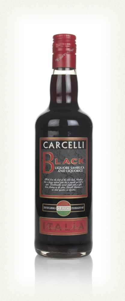 Carcelli Black Sambuca 70cl 35% abv