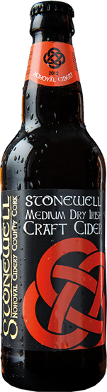 Stonewell Medium Dry Irish Craft Cider 5.5% abv 50cl