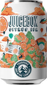 Four Pure Juice Box IPA 5.9% abv 33cl Can