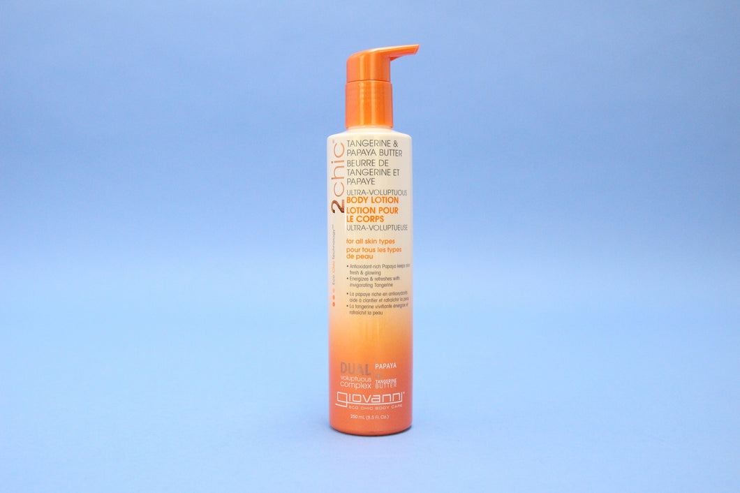 Giovanni 2chic body lotion tangerine & papaya butter