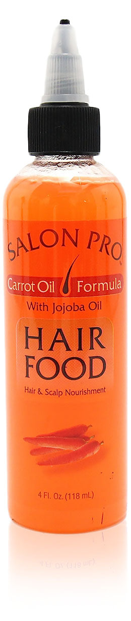 Salon Pro Hair Food CARROT OIL W/ JOJOBA OIL 4oz