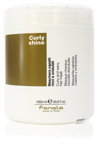 Fanola curl shine curly and wavy hair mask 33.8oz