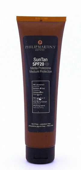 Philip martin's sun tan lotions 150ml (spf 20)