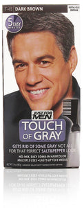 Just for men t-45 touch of gray easy comb-in dark brown (3 pack)