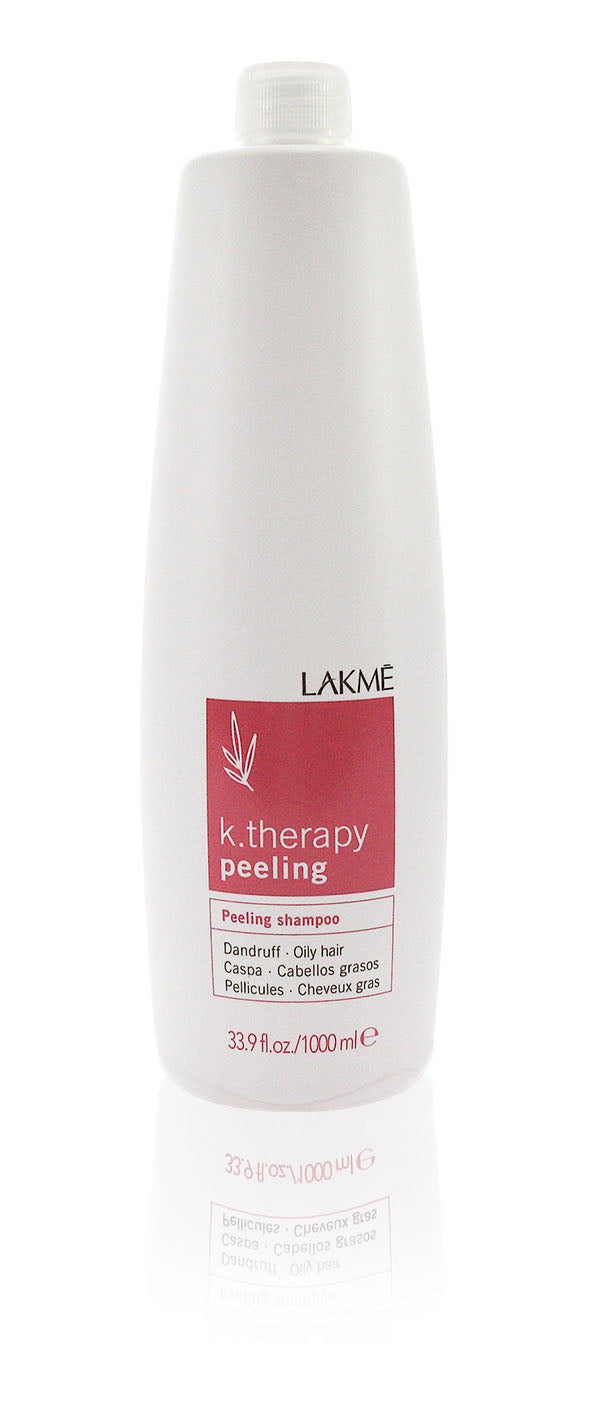 Lakme K.Therapy Peeling Shampoo Oily 33.9 oz 1000 ml