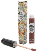 The Balm Read My Lips Lipgloss- Grrr!