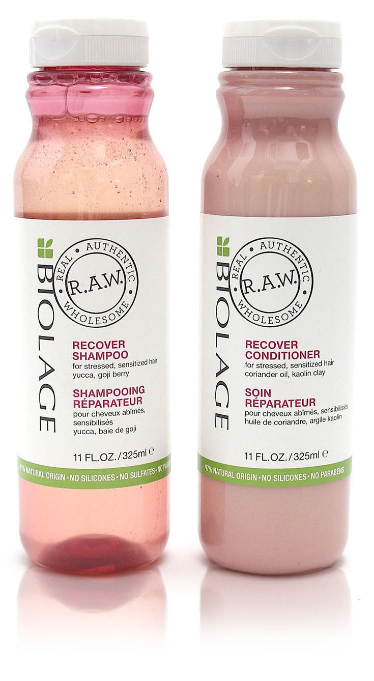 Matrix biolage r.A.W recover shampoo & conditioner duo 11 oz