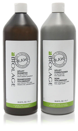 Matrix biolage r.A.W uplift shampoo & conditioner duo 33.8 oz