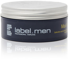 Label m max wax 50ml
