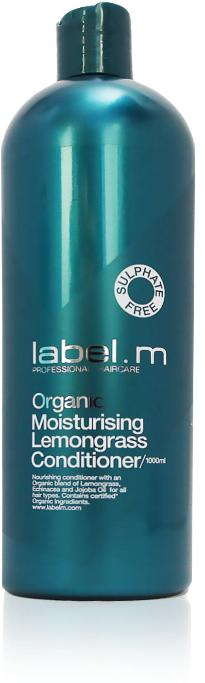 Label m organic lemongrass conditioner 1000ml