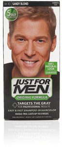Just for men h-10 original formula sandy blond (3 pack)