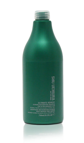 Shu Uemura Ultimate Remedy Extreme Restoration Shampoo for Ultra-Damaged Hair, 25.3 Ounce