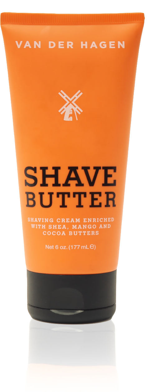 Van der hagen shave butter 6 oz (pack of 2)
