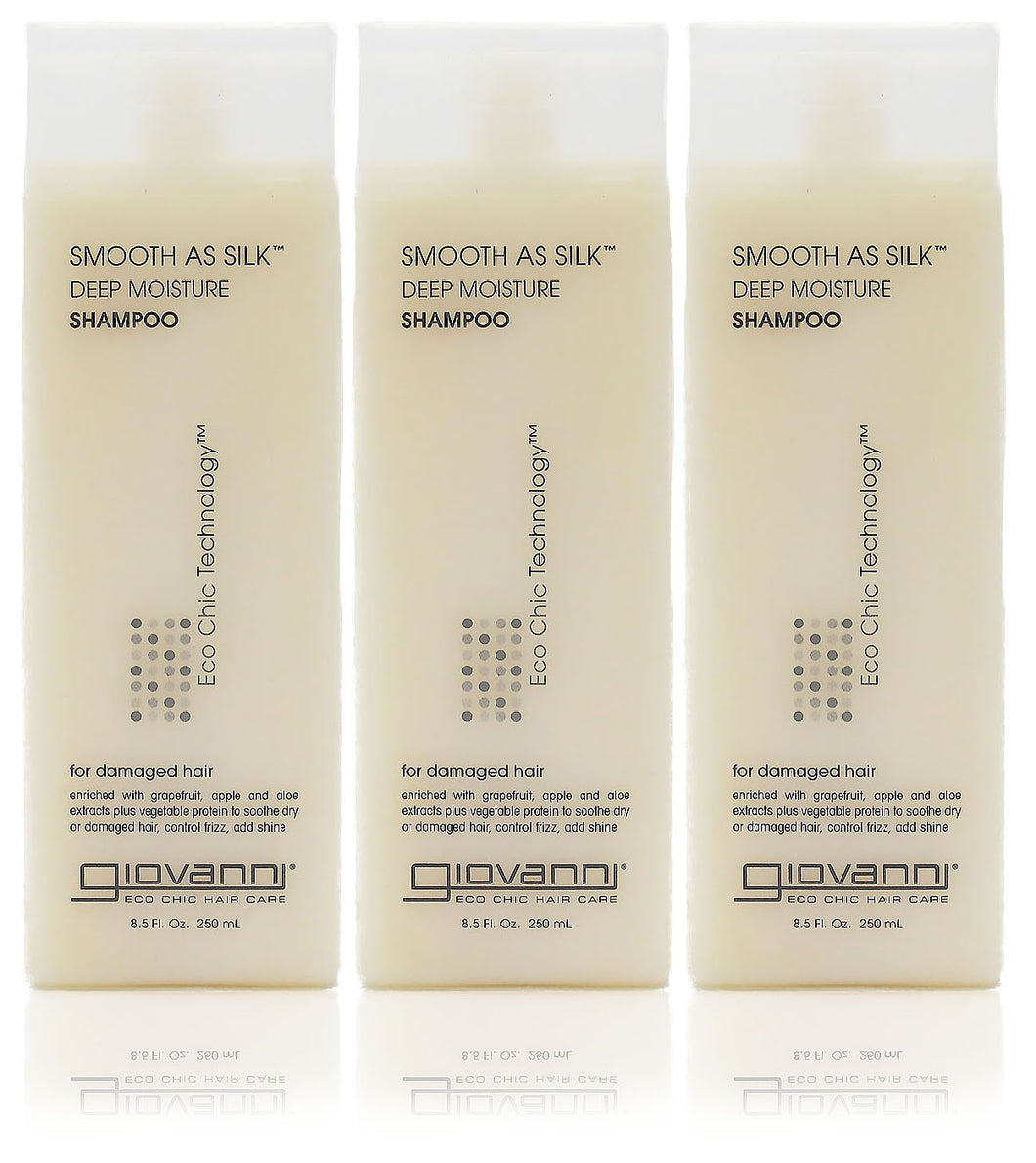 Giovanni smooth as silk deep moisture shampoo (pack of 3)