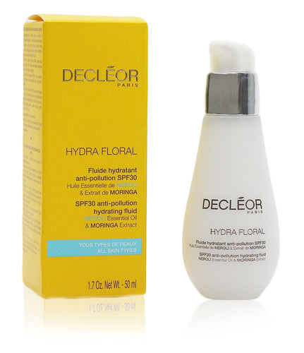 Decleor Hydra Floral - Spf 30 Anti-pollution Hydrating Fluid 50ml Bottle
