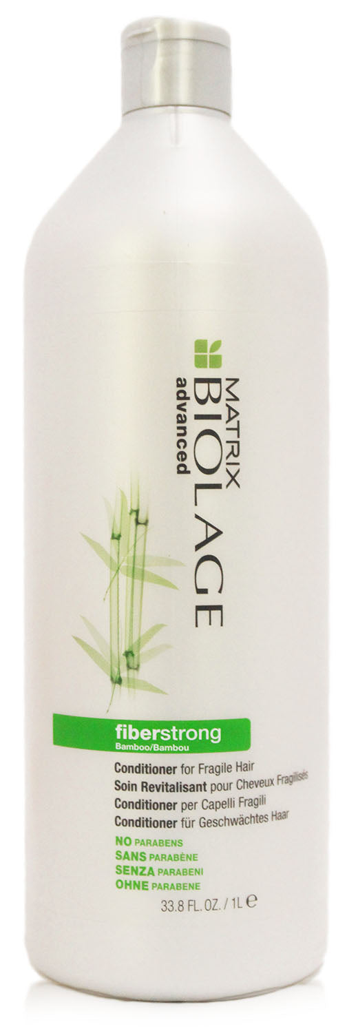 Matrix biolage fiberstrong bamboo 33.8-ounce conditioner