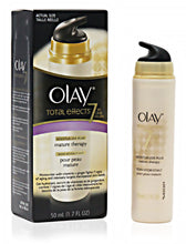 OLAY TOTAL EFFECTS 7 IN ONE MOISTURIZER PLUS MATURE THERAPY