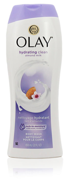 Oil Of Olay Hydrating Clean Almond Milk Body Wash