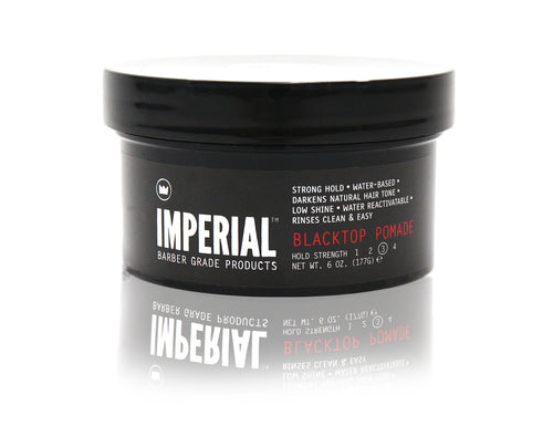 Imperial barber grade products blacktop pomade, 6 oz