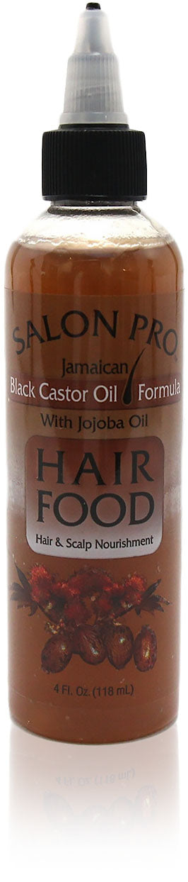 Salon Pro Hair Food Jamaican BLACK CASTOR OIL W/ JOJOBA OIL 4oz