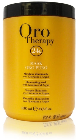 Fanola oro therapy 24k illuminating mask with keratin and argan 33.8oz
