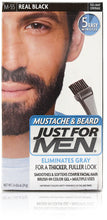 Just for men m-55 mustache & beard real black (3 pack)