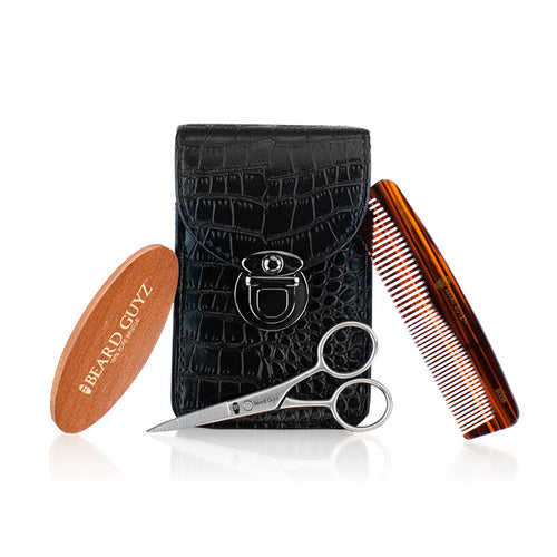 Beard guyz total beard care accessory 4 piece set