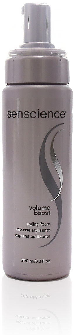 Senscience volume boost styling foam, 6.8 oz